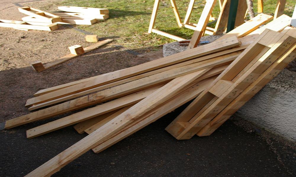 Recycler des palettes en bois stunning recyclage palette for Recyclage palette